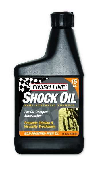 Synthetic Oil Change >> Finish Line - Bicycle Lubricants and Care Products - Shock ...